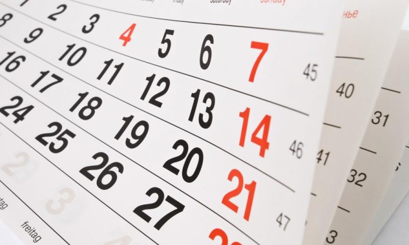 Feriados 2017 – Lista de Feriados e Datas Comemorativas